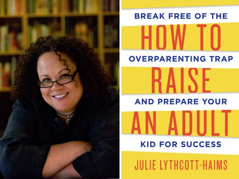 how to raise an adult book and Julie image.JPG