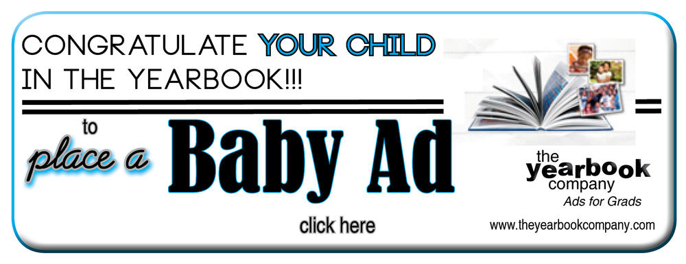 Aptos High yearbook place a baby photo ad