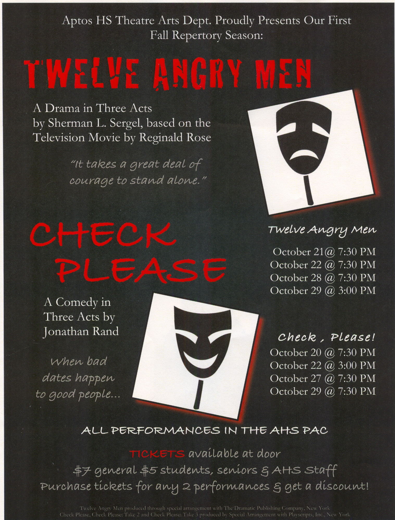 12 Angry & Check Please!
